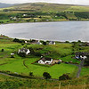 Uig Harbor and ferry landing on the Isle of Skye