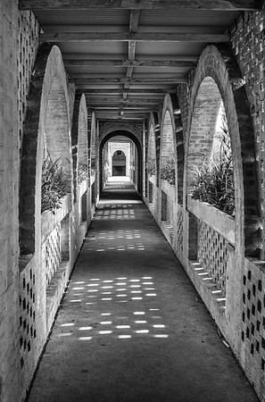 Entranceway to Atalaya Castle, Huntington State Beach, SC